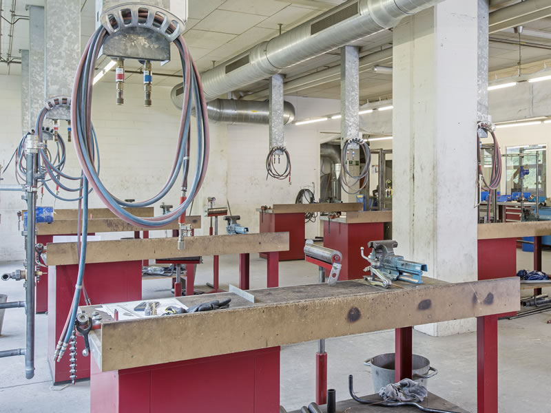 Heizungs-Werkstatt (1. OG)