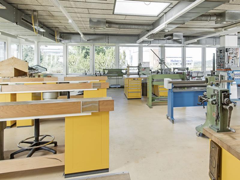 Spengler-Werkstatt (3. OG)