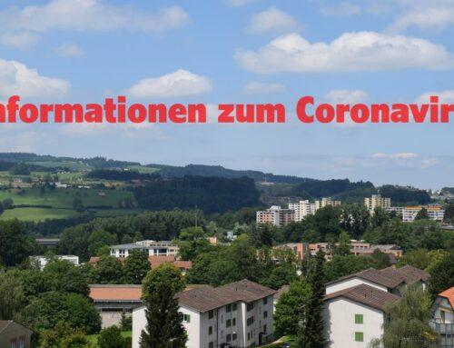 Informationen Coronavirus – Update 27.5.2020!